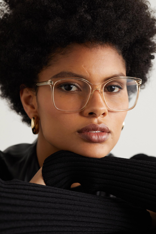 CELINE Eyewear Brille mit eckigem Rahmen aus Azetat