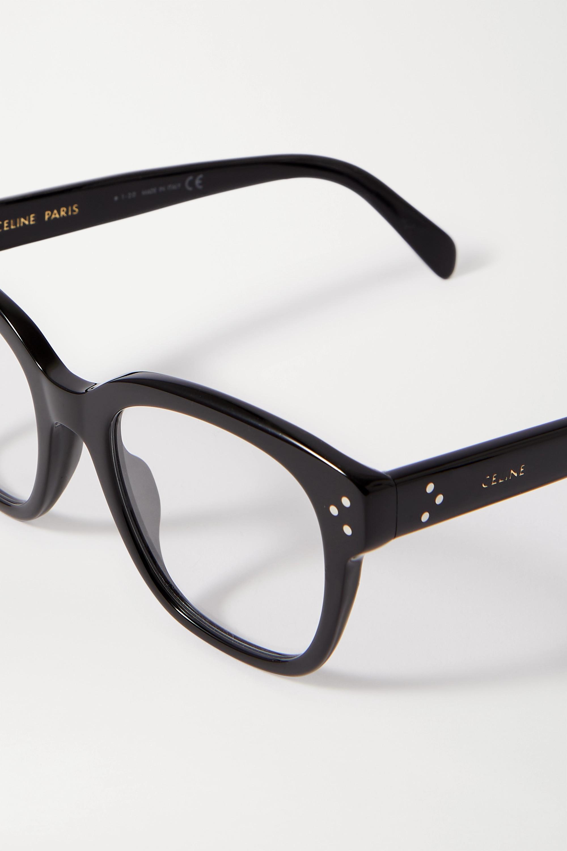 CELINE Eyewear Oversized-Brille mit eckigem Rahmen aus Azetat
