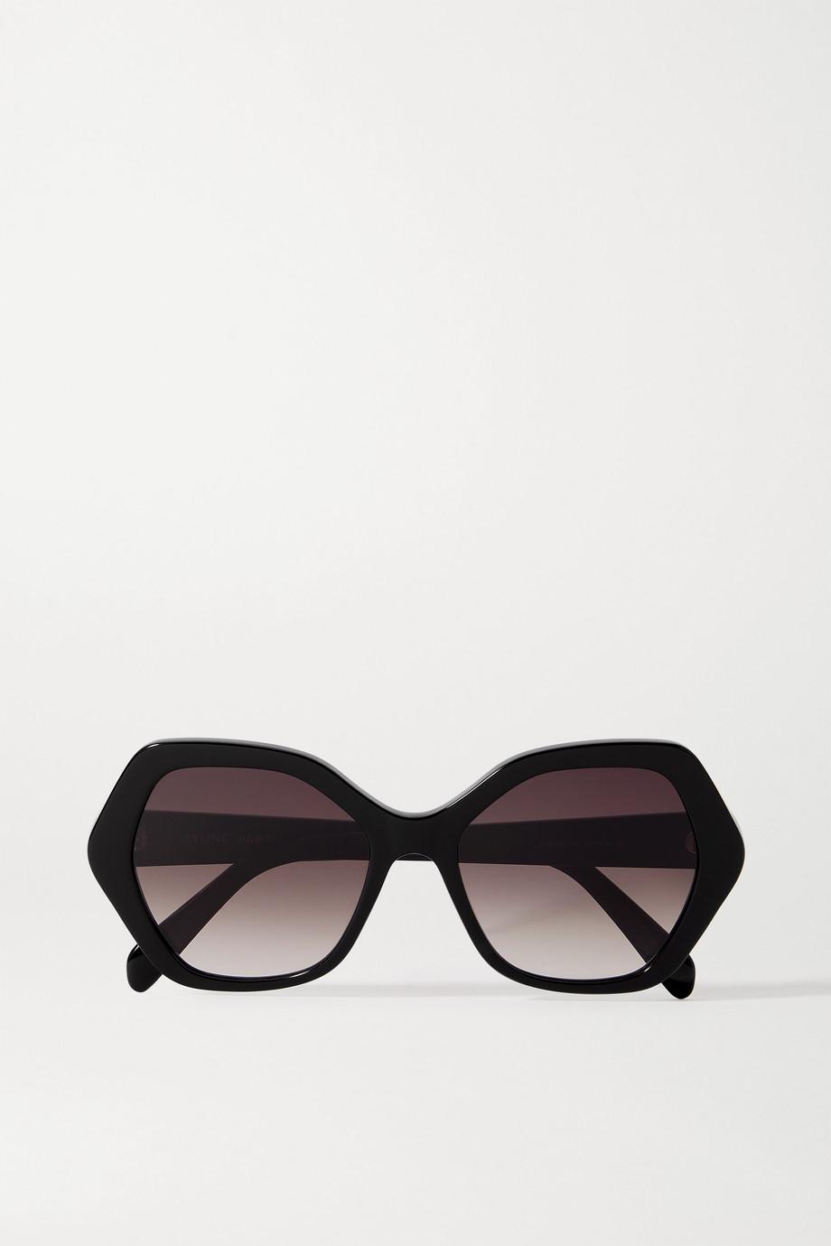 CELINE Eyewear Lunettes de soleil hexagonales en acétate