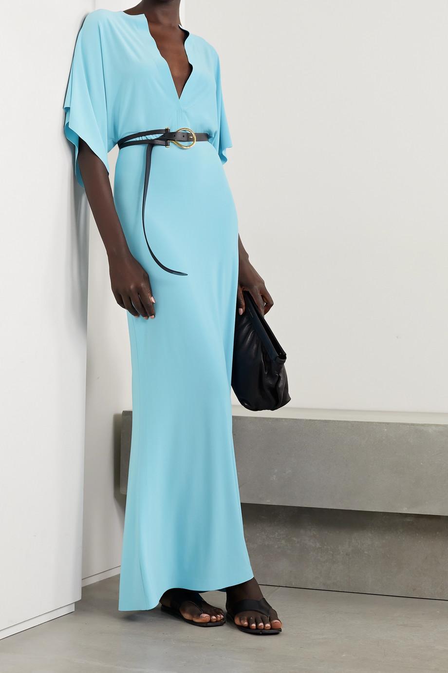Norma Kamali Obie stretch-jersey maxi dress