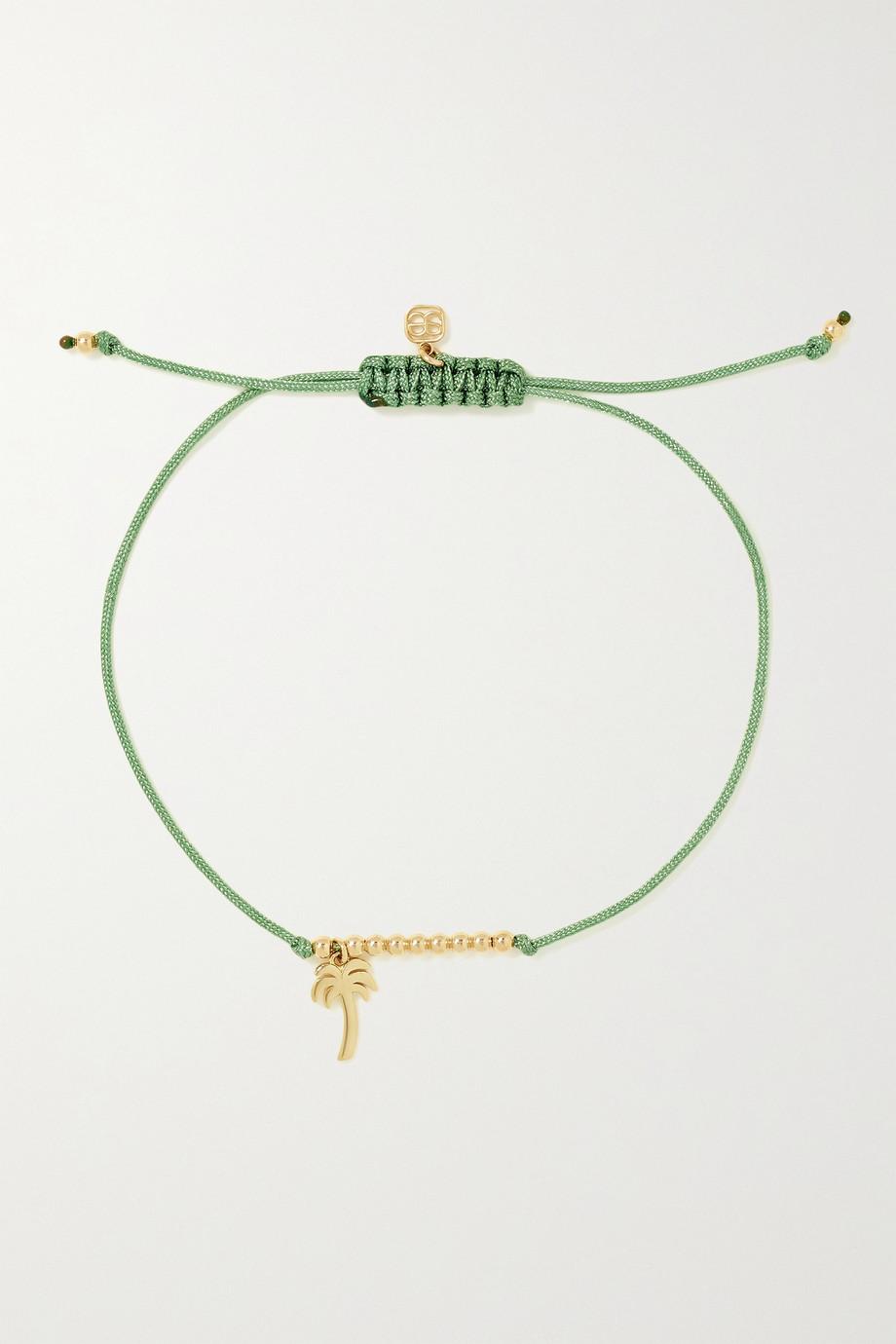 Sydney Evan Bracelet en or 14 carats (585/1000) et corde Palm Tree