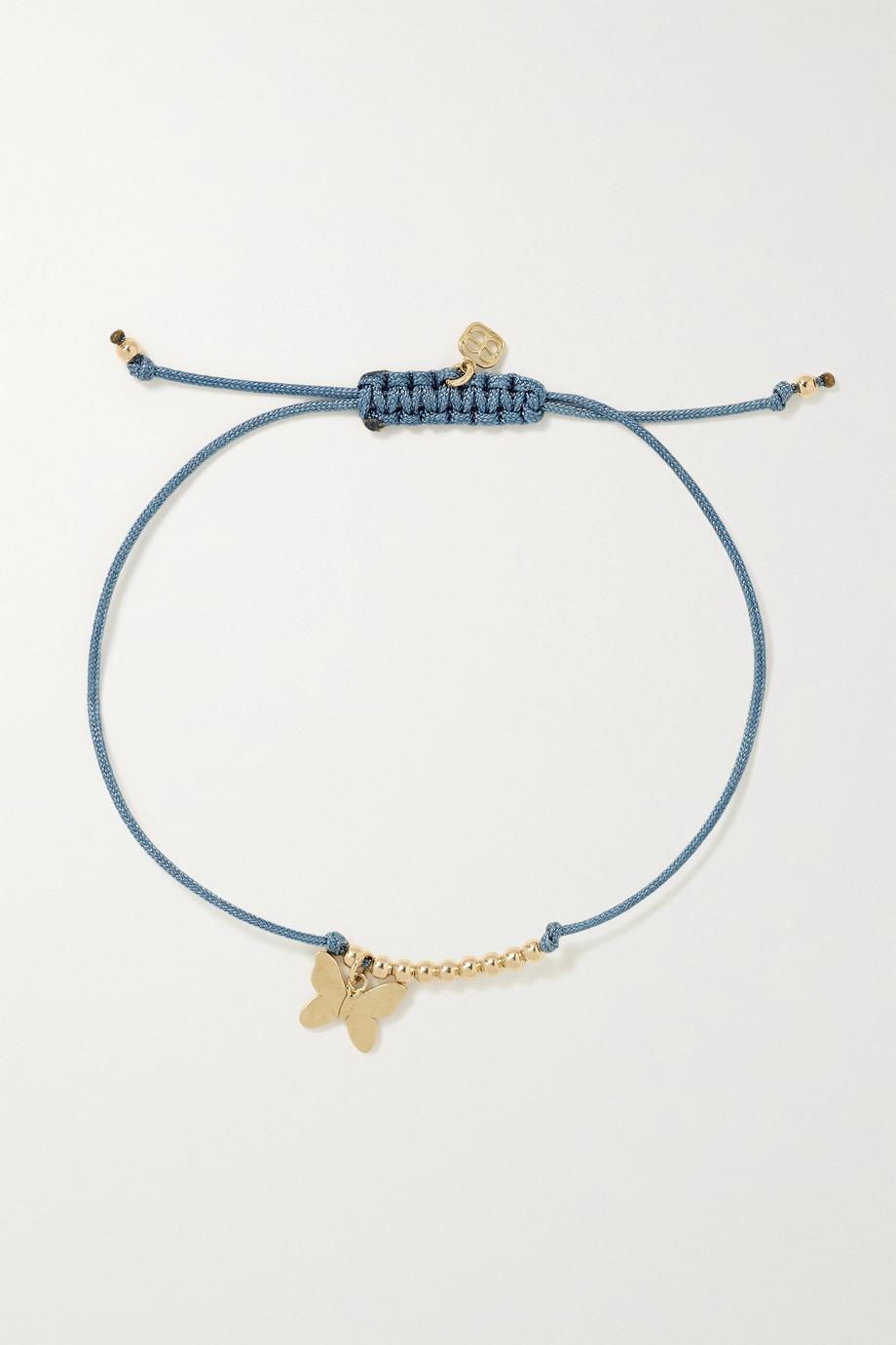 Sydney Evan Bracelet en or 14 carats (585/1000) et corde Butterfly