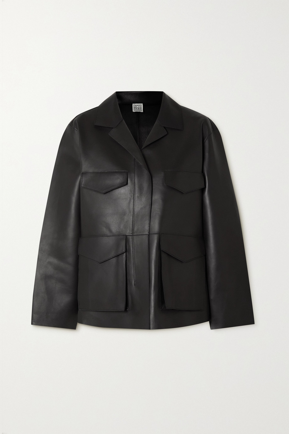 Totême Veste oversize en cuir