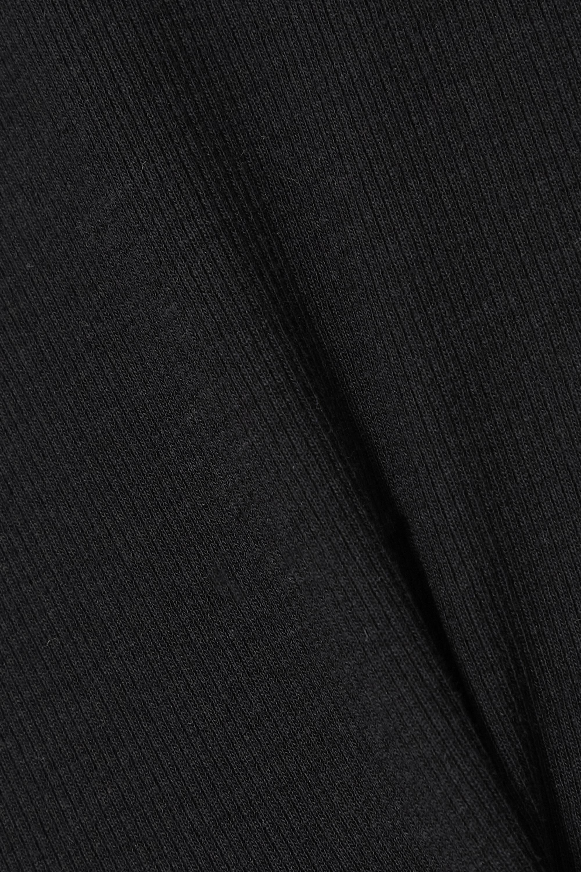 Totême Débardeur en jersey de coton biologique stretch côtelé