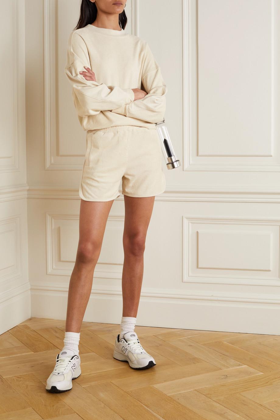 Varley Marwood cotton-terry shorts