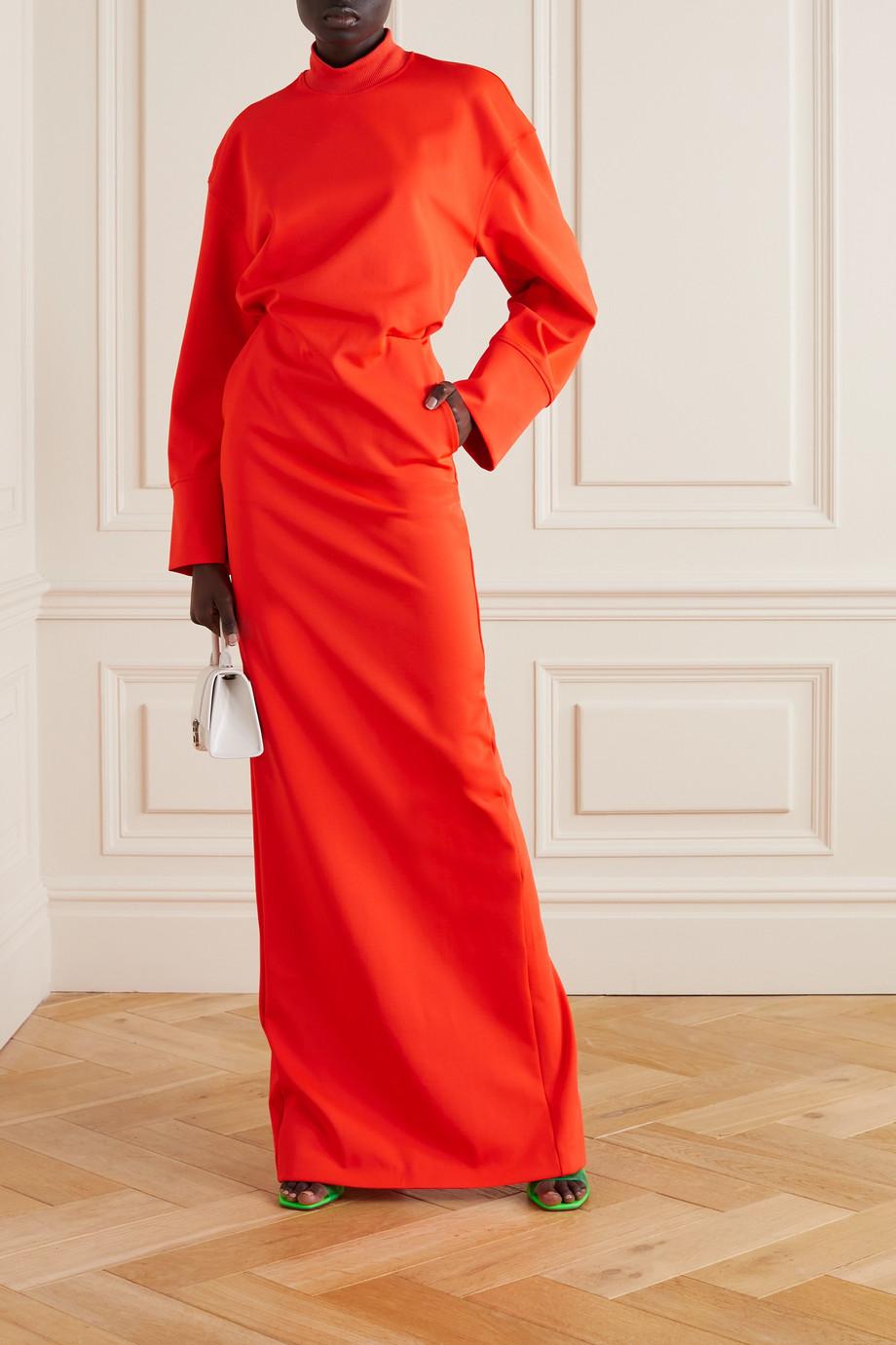 The Attico Stretch-knit maxi dress