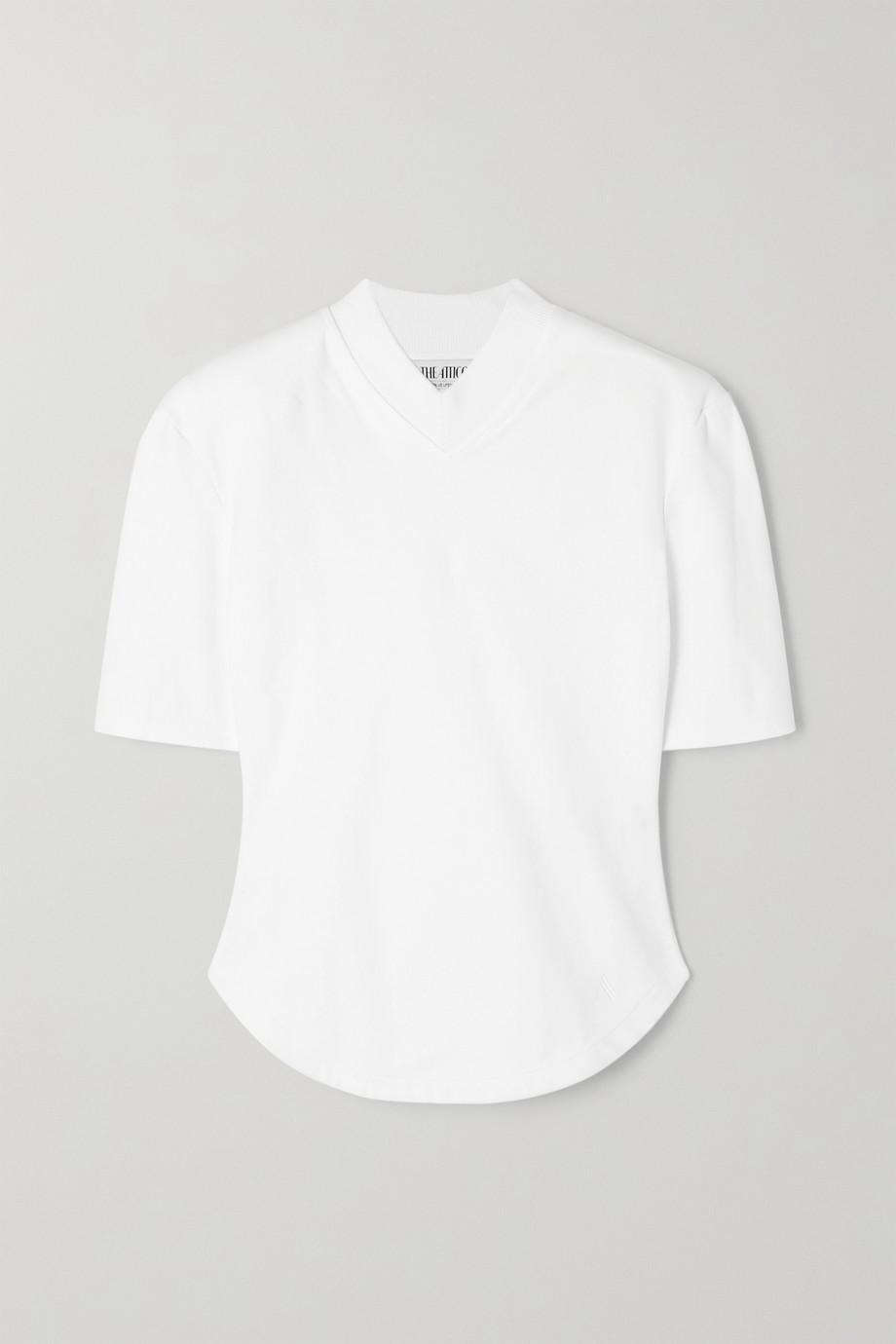 The Attico Cotton-jersey T-shirt