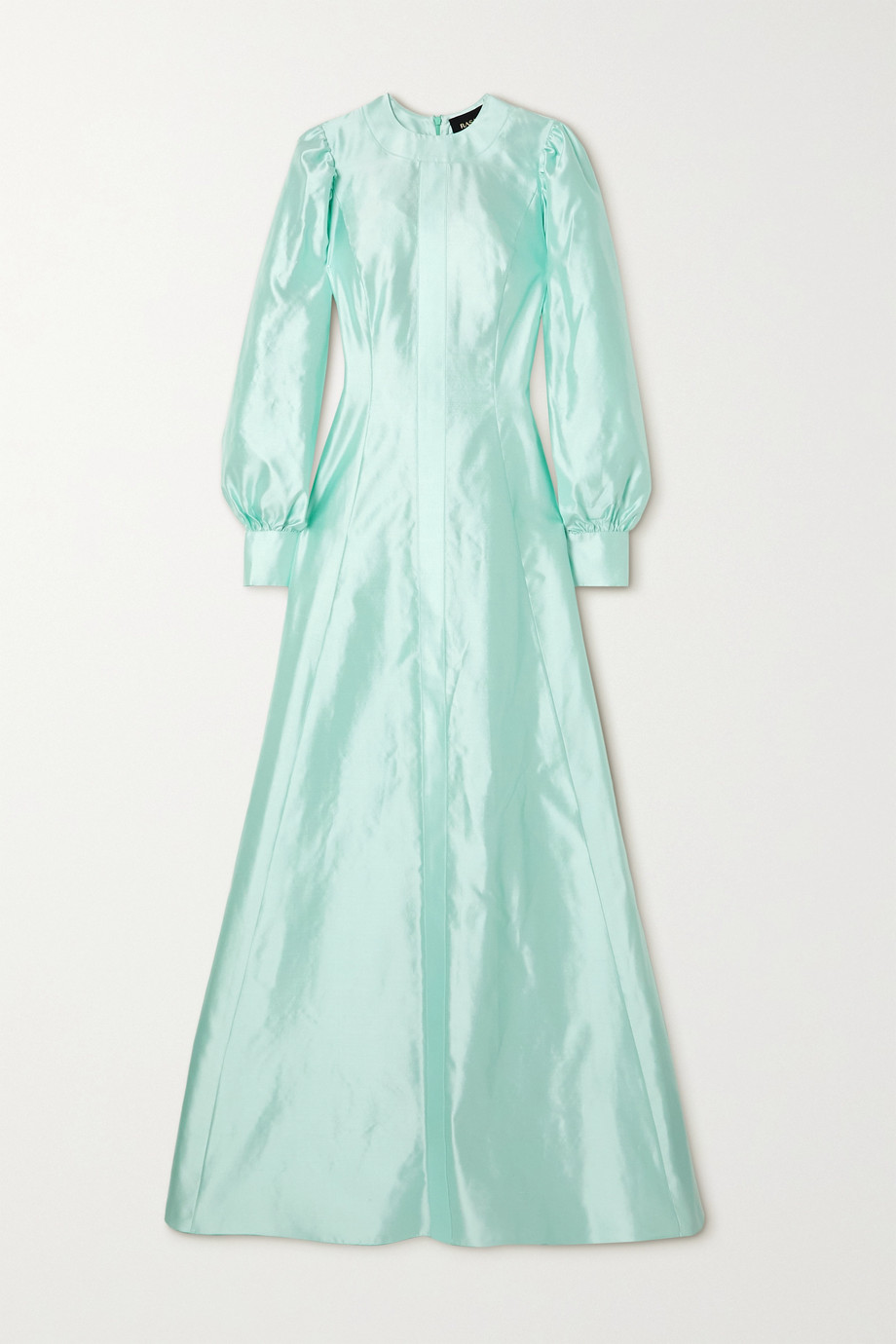 RASARIO Mikado silk-satin gown