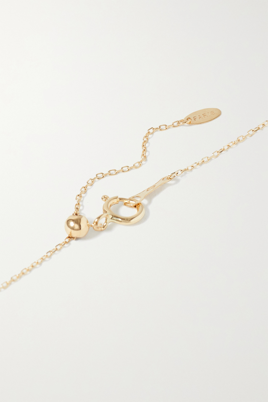 Persée Luna Kette aus Gold mit Diamanten