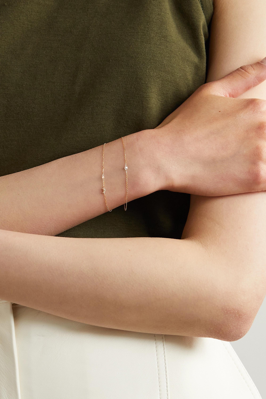 Persée Luna Armband aus Gold mit Diamanten