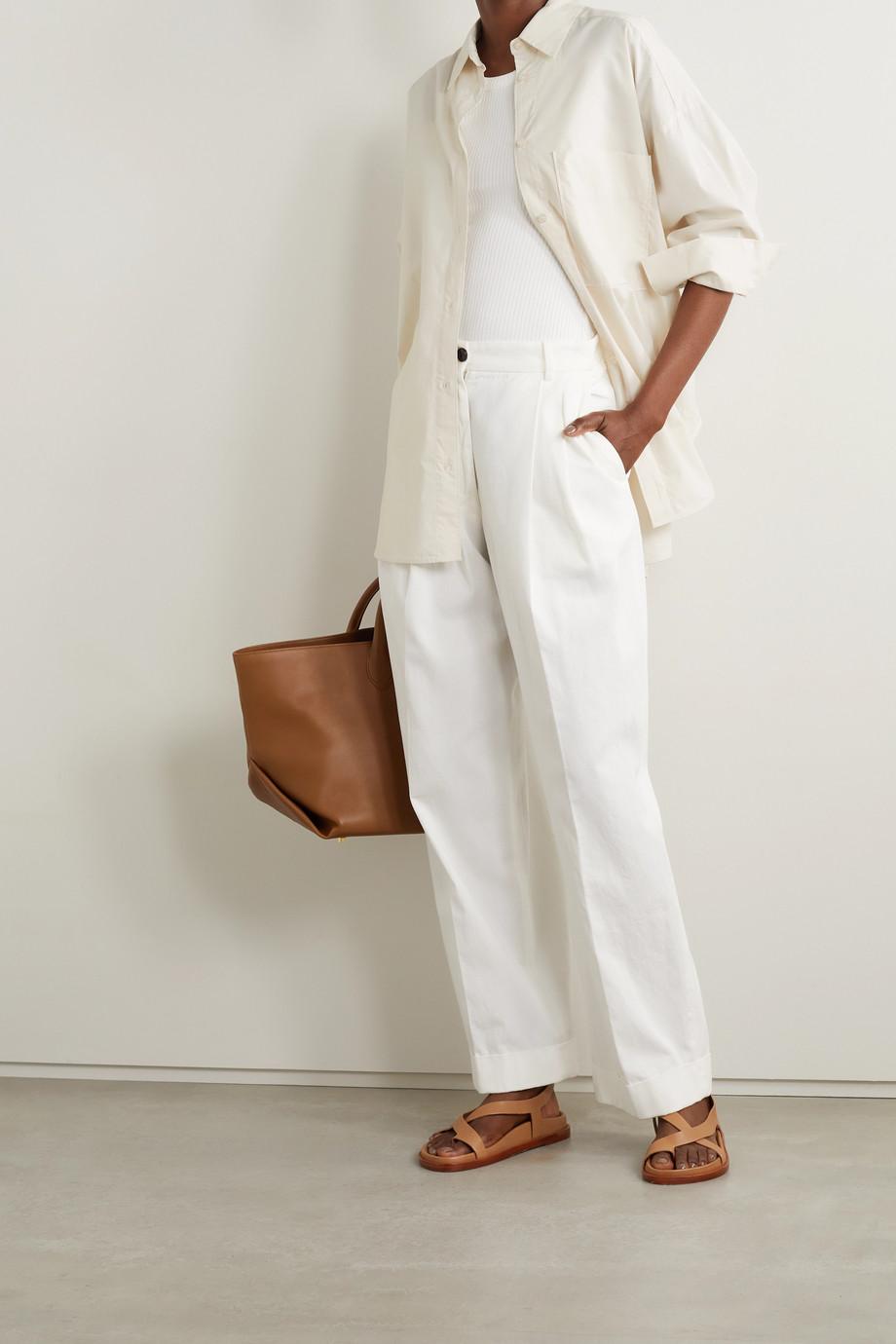 By Malene Birger Derris organic cotton-poplin shirt