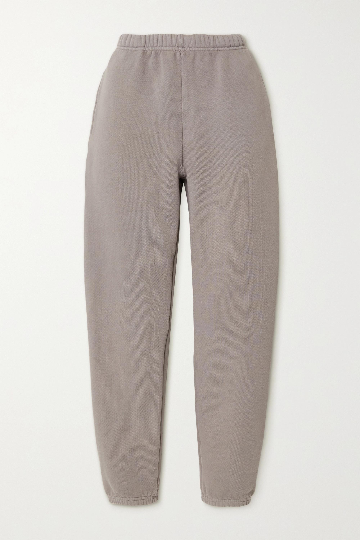 Les Tien - Cotton-jersey track pants