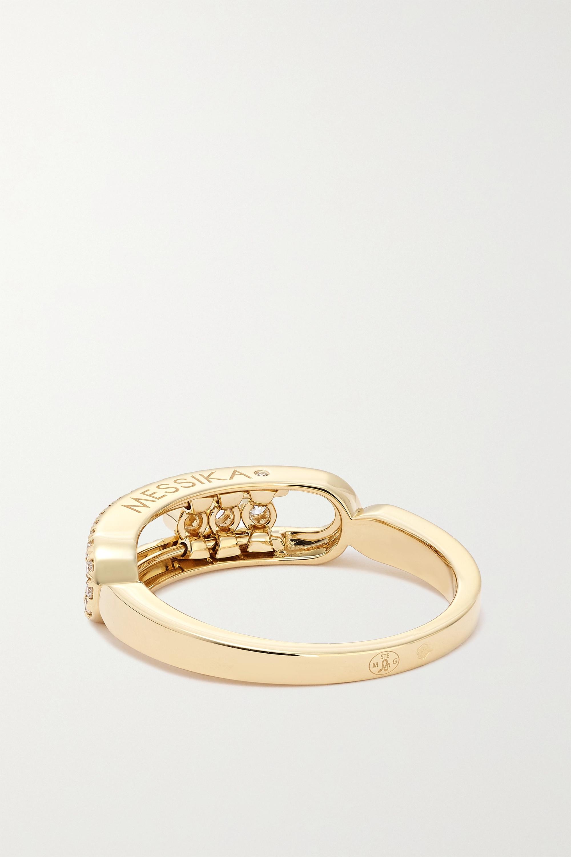 Messika Baby Move 18-karat gold diamond ring