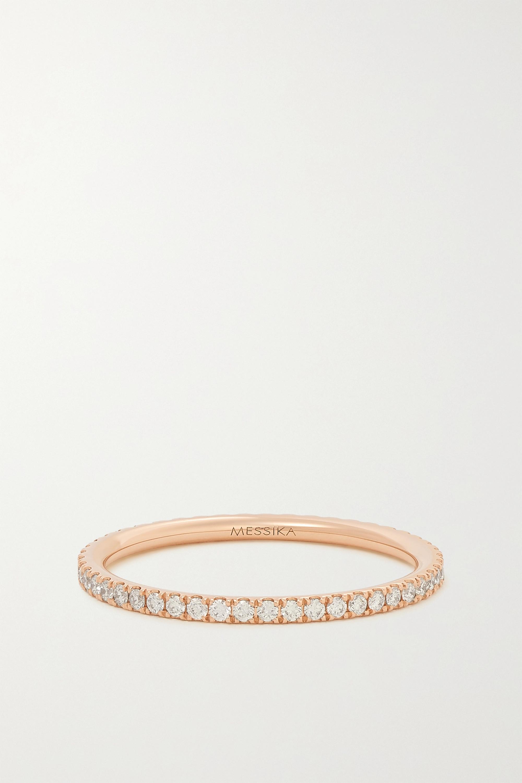 Messika Gatsby 18-karat rose gold diamond ring