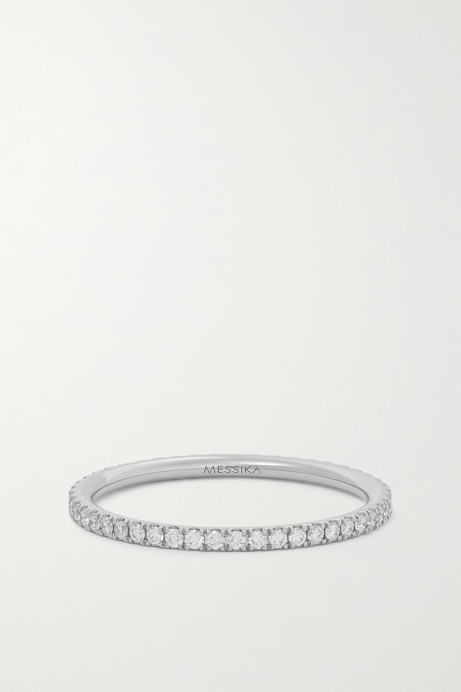 Messika Bague en or blanc 18 carats (750/1000) et diamants Gatsby