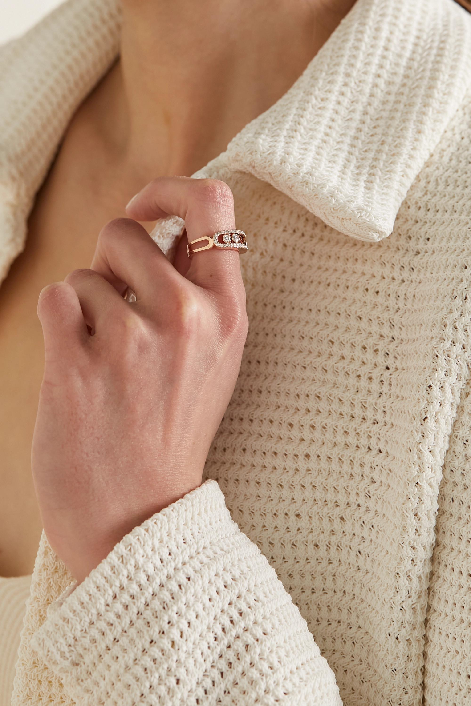 Messika Move 18-karat rose gold diamond ring