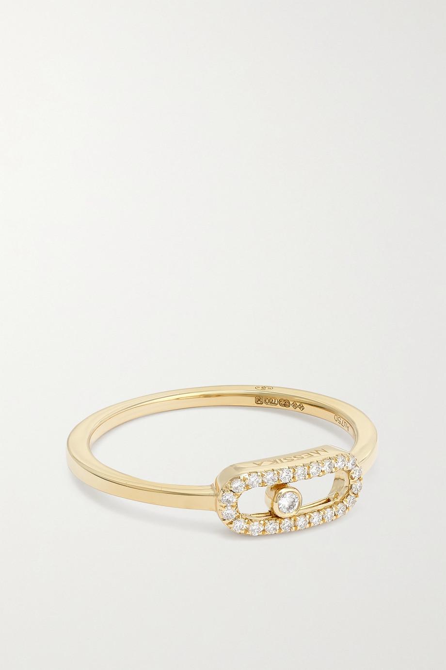 Messika Bague en or 18 carats (750/1000) et diamants Move Uno