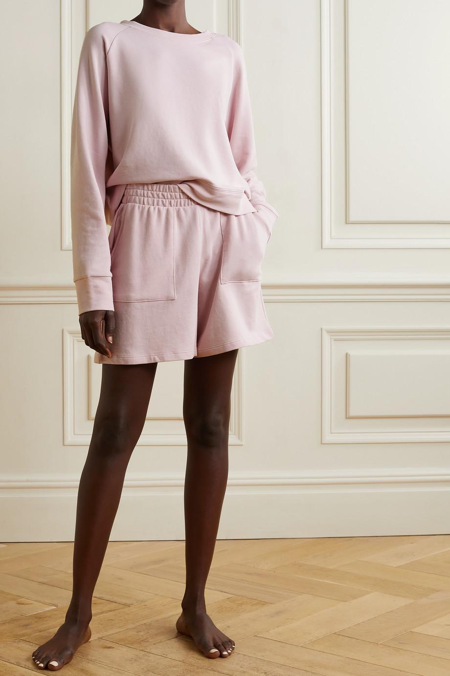 Skin + NET SUSTAIN Emmalyn Shorts aus Jersey aus einer Biobaumwollmischung