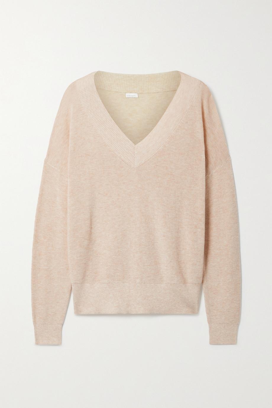 Skin + NET SUSTAIN Wakely Pullover aus einer Baumwollmischung