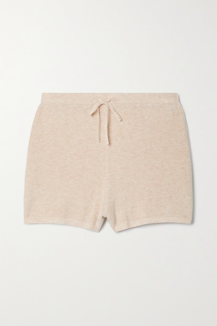 Skin + NET SUSTAIN Weslin Shorts aus einer gerippten Biobaumwollmischung