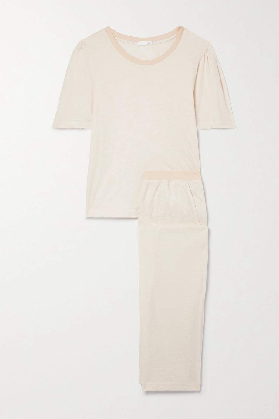 Skin + NET SUSTAIN Frances Fabienne Pyjama aus Biobaumwoll-Jersey
