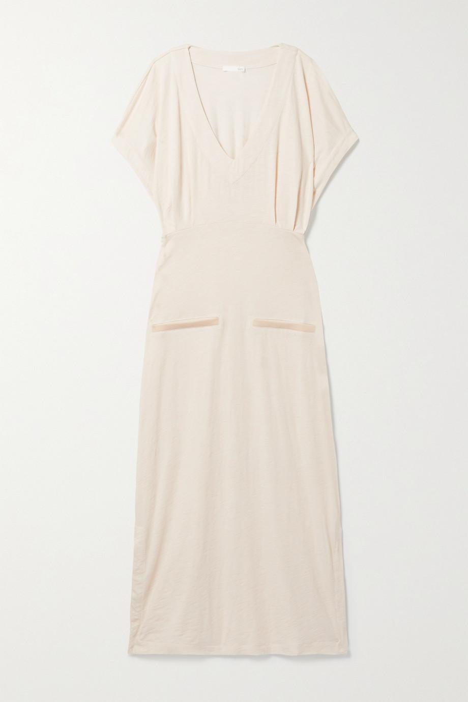Skin + NET SUSTAIN Farida organic cotton-blend jersey nightdress