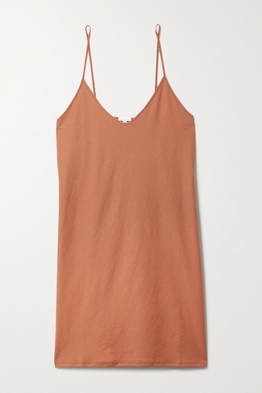 Skin + NET SUSTAIN organic Pima cotton-jersey nightdress