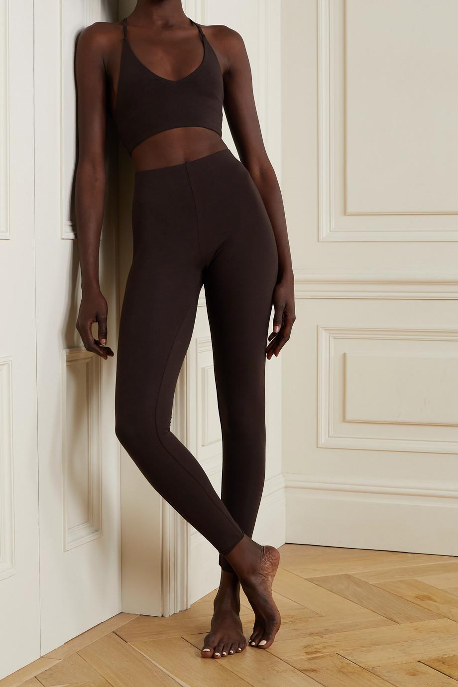 Skin + NET SUSTAIN Calypso Leggings aus Bio-Pima-Baumwoll-Jersey mit Stretch-Anteil