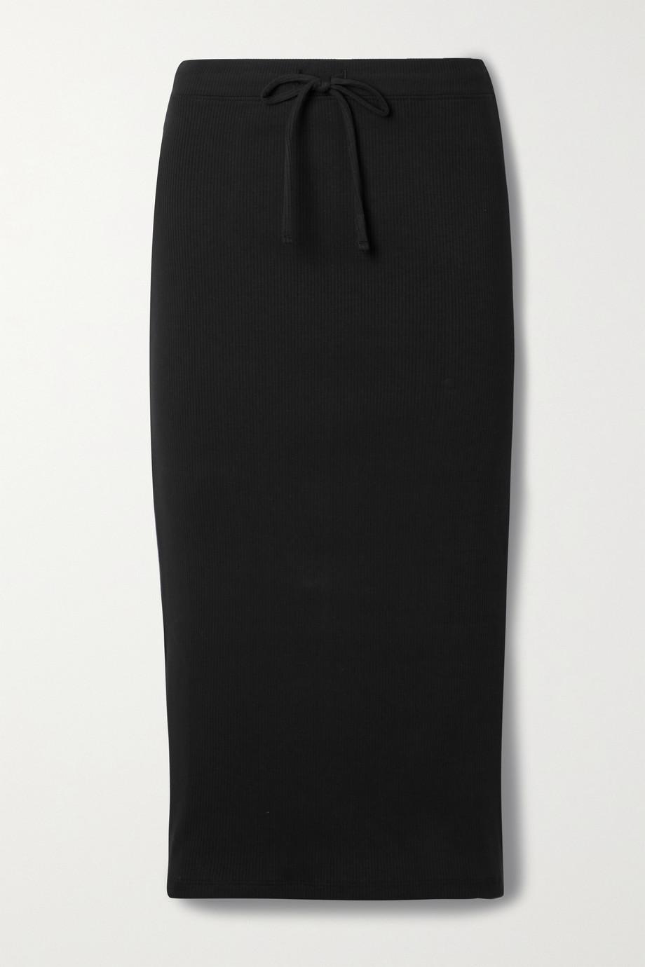 Skin + NET SUSTAIN Imani Rock aus geripptem Bio-Pima-Baumwoll-Jersey mit Stretch-Anteil