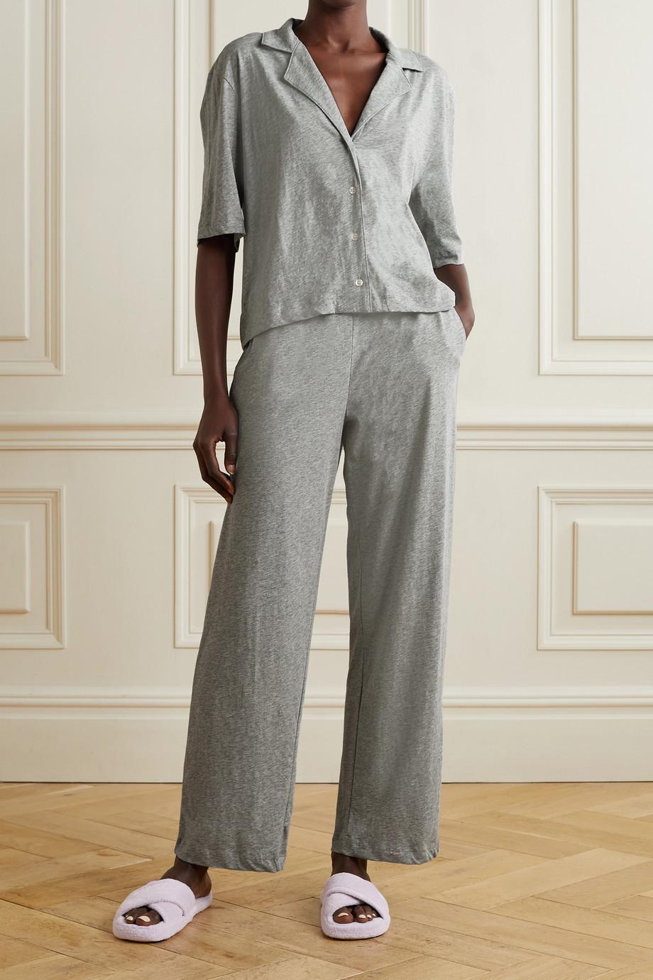 Skin + NET SUSTAIN Chandler Pyjama aus Bio-Pima-Baumwoll-Jersey