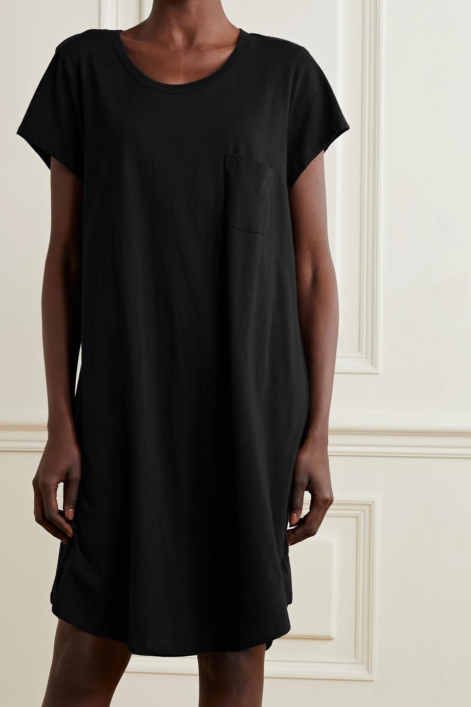 Skin + NET SUSTAIN Carissa organic Pima cotton-jersey nightdress