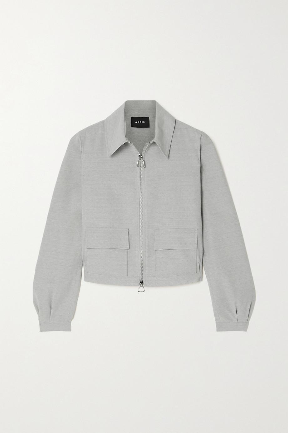 Akris Cropped wool jacket