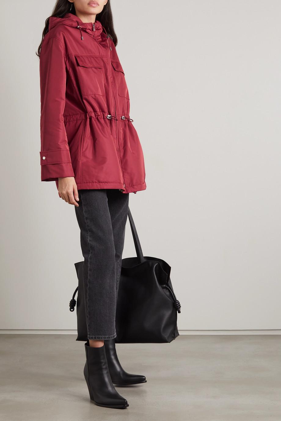 Loro Piana Hooded padded shell jacket