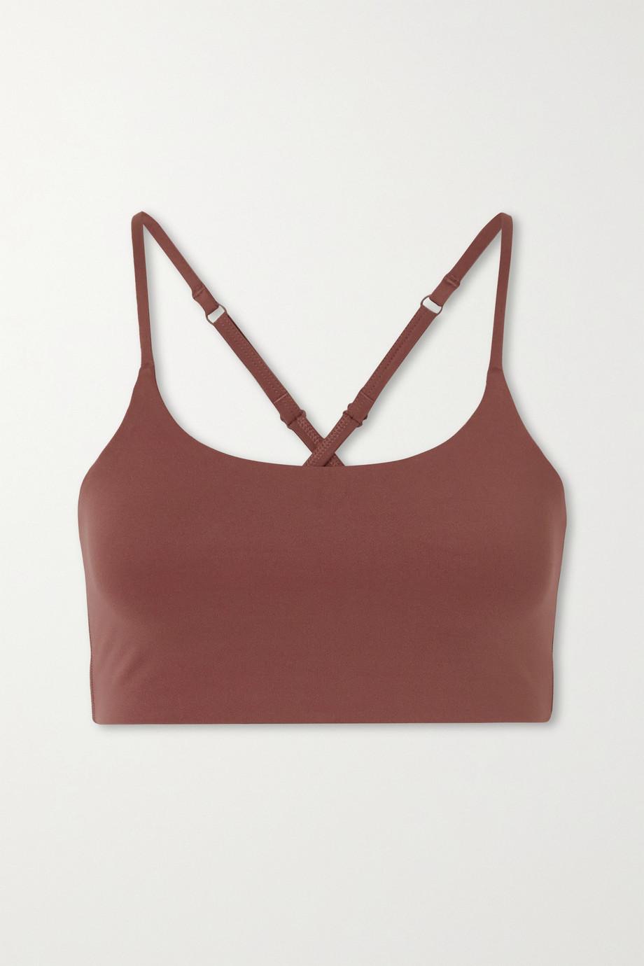 Girlfriend Collective + NET SUSTAIN Juliet recycled stretch sports bra