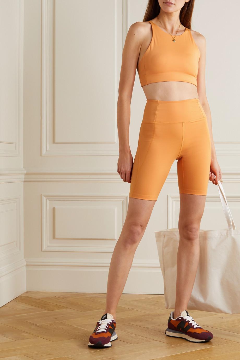 Girlfriend Collective + NET SUSTAIN Topanga recycled stretch sports bra