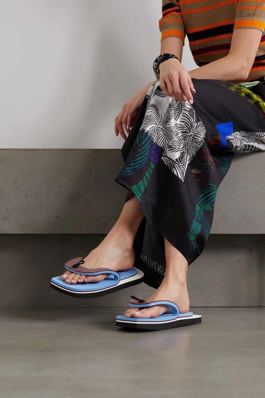 Dries Van Noten Tongs plates-formes