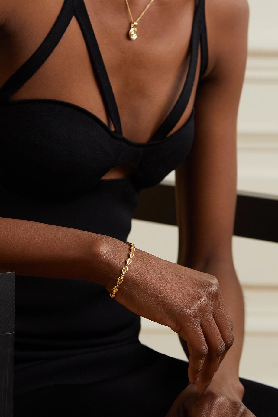 ALMASIKA Le Cauri 18-karat gold bracelet