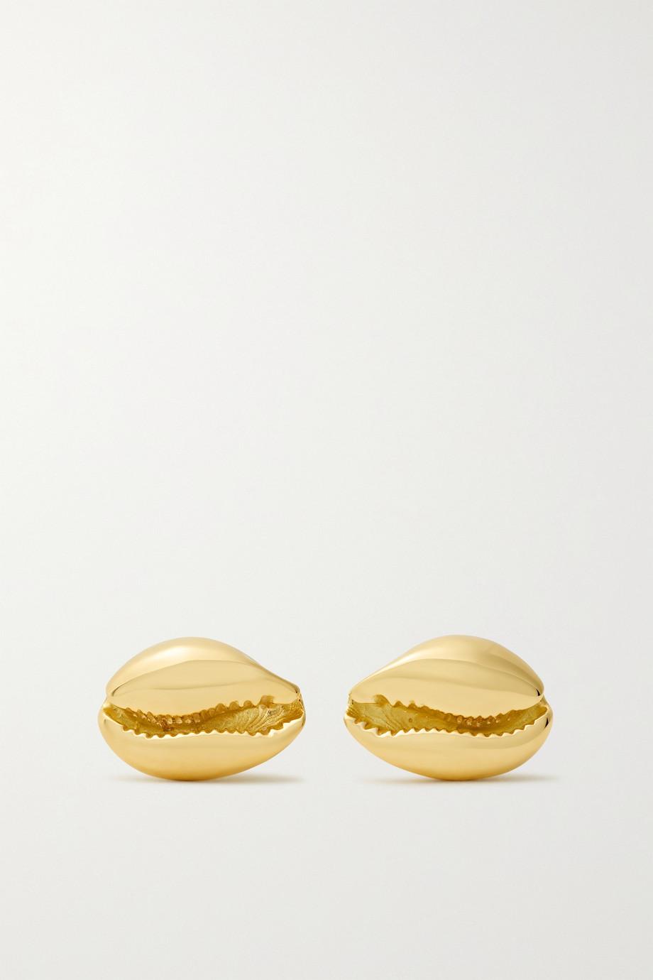 ALMASIKA Boucles d'oreilles en or 18 carats Le Petit Cauri