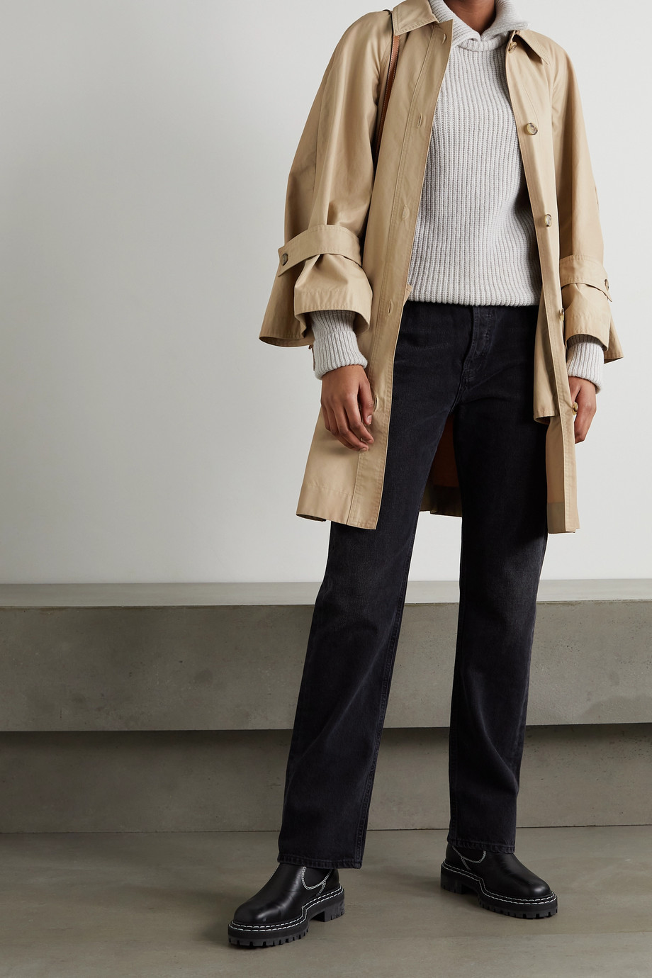 Moncler Genius + 1 JW Anderson Dungeness trench coat