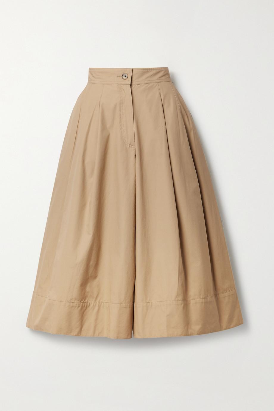 Moncler Genius Jupe-culotte en serge de coton à plis x JW Anderson 1