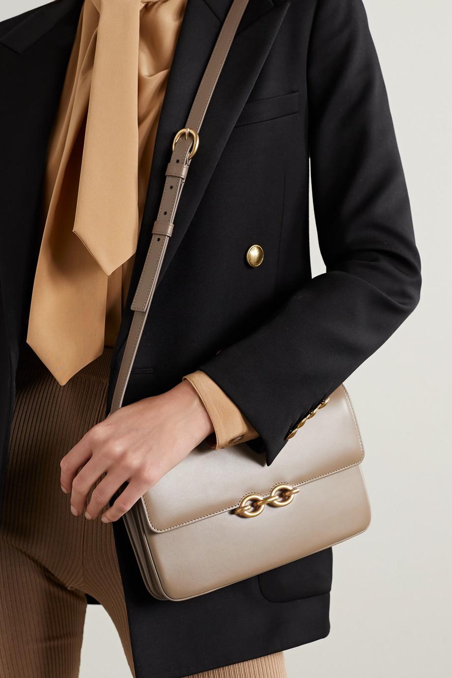 SAINT LAURENT Sac porté épaule en cuir Le Maillon