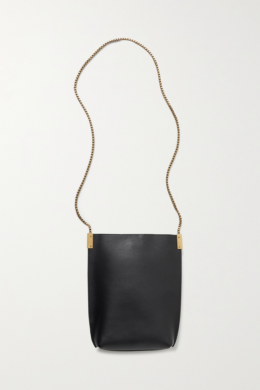 SAINT LAURENT Sac porté épaule en cuir Suzanne Mini