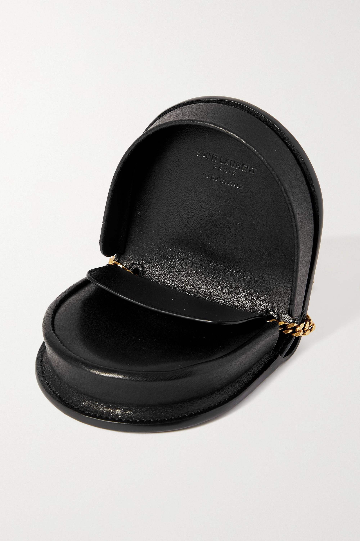 SAINT LAURENT Sac porté épaule en cuir Kaia Mini