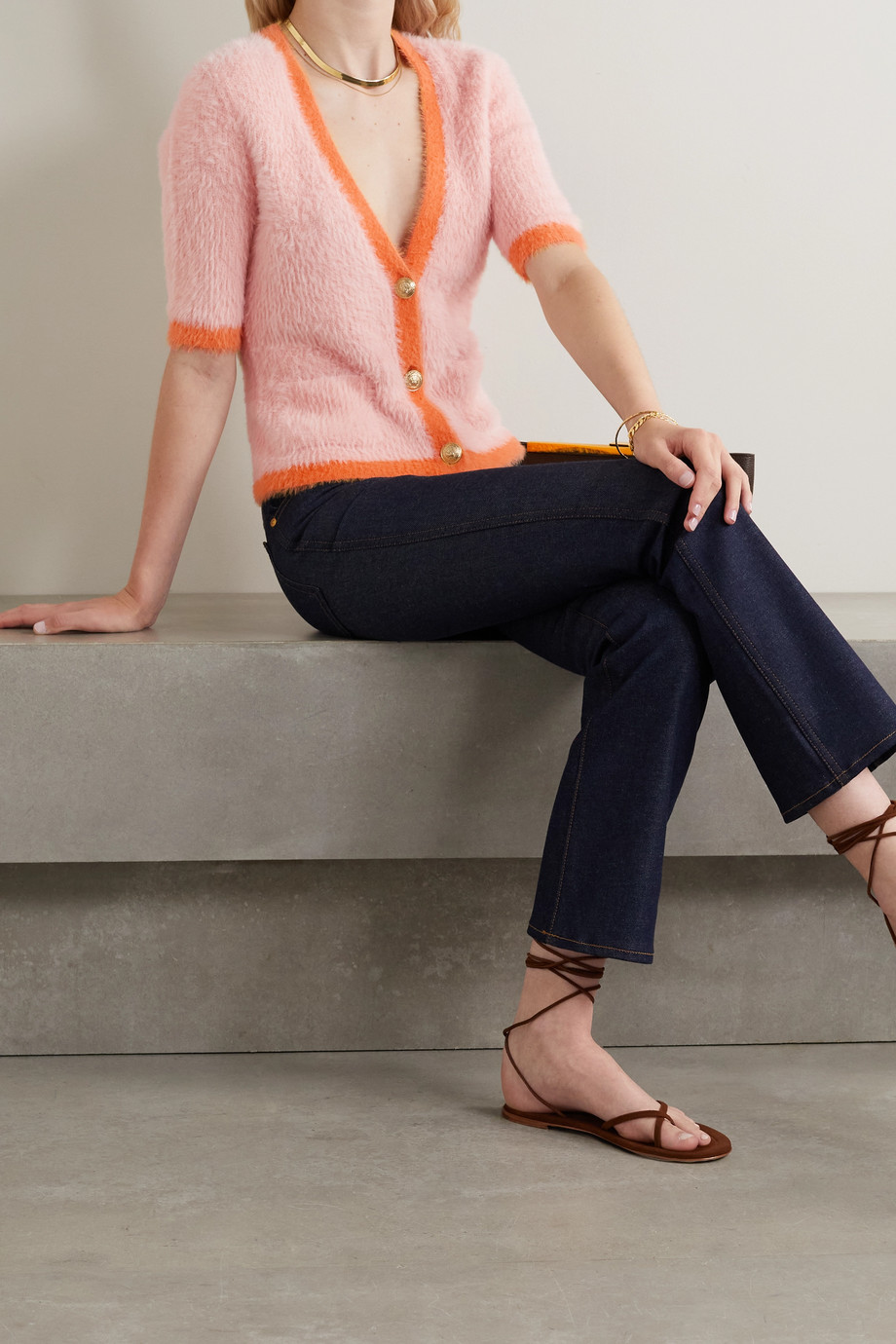 L'Agence Susie knitted cardigan