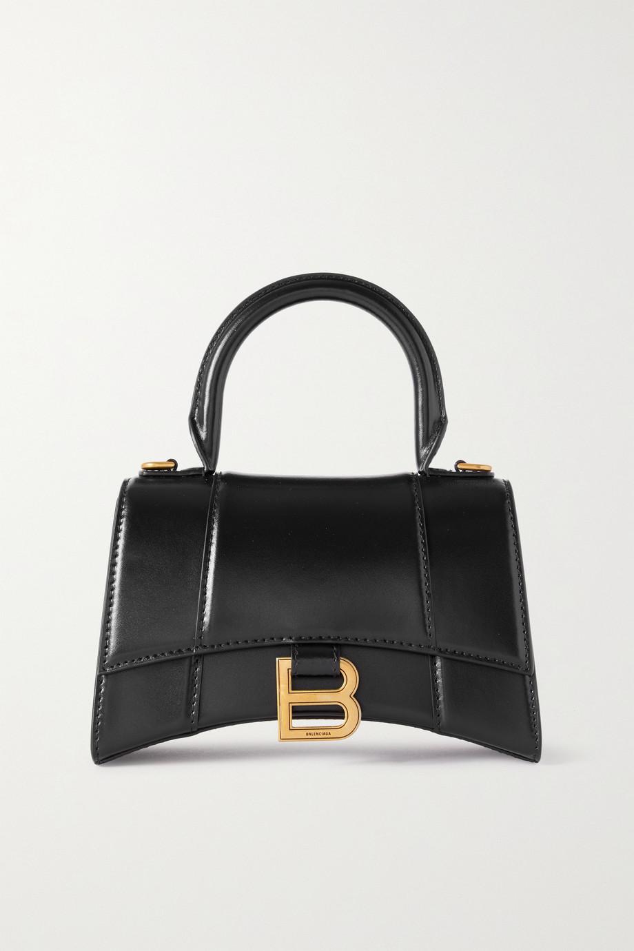 Balenciaga Sac à main en cuir Hourglass XS