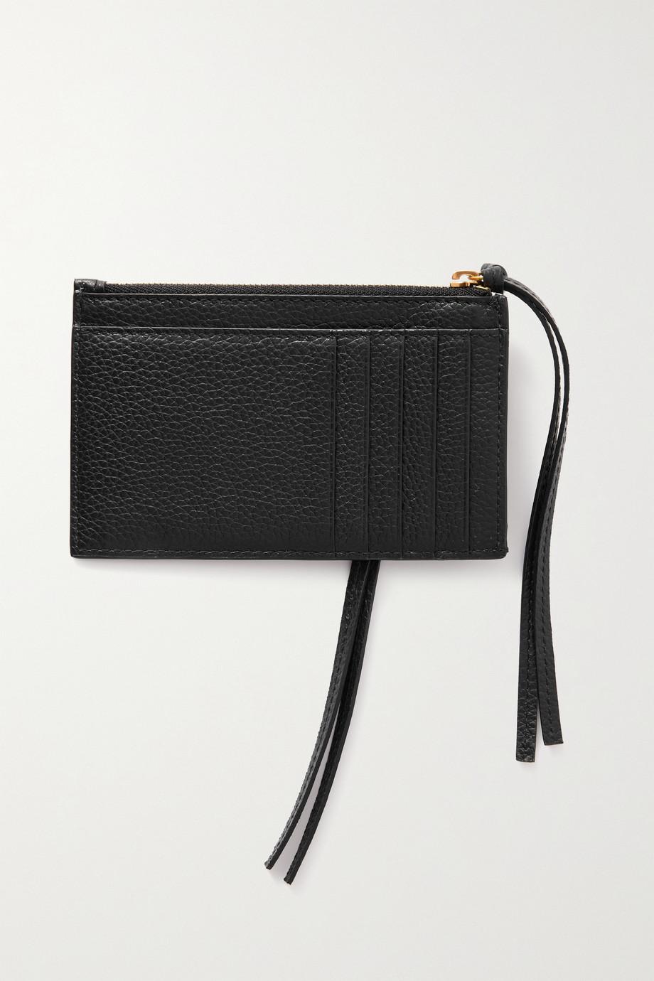Balenciaga Neo Classic textured-leather cardholder