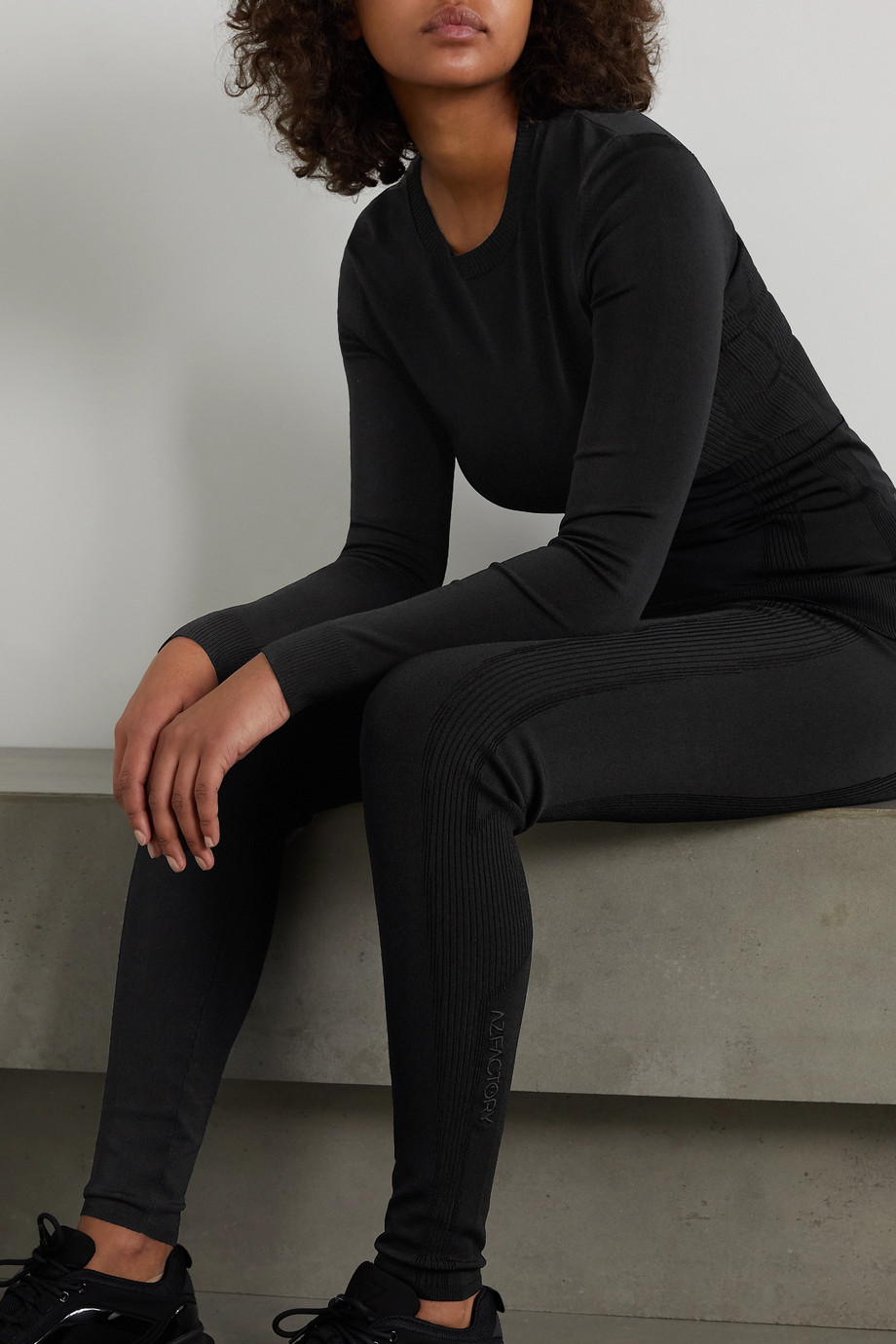 AZ Factory Switchwear stretch-knit top