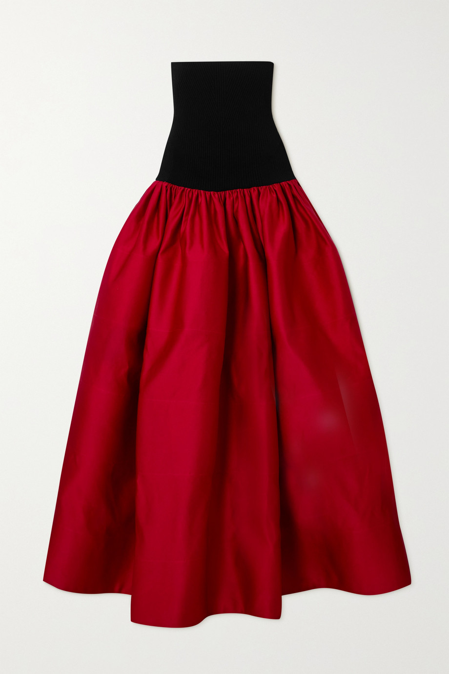 AZ Factory Switchwear recycled duchesse-satin maxi skirt