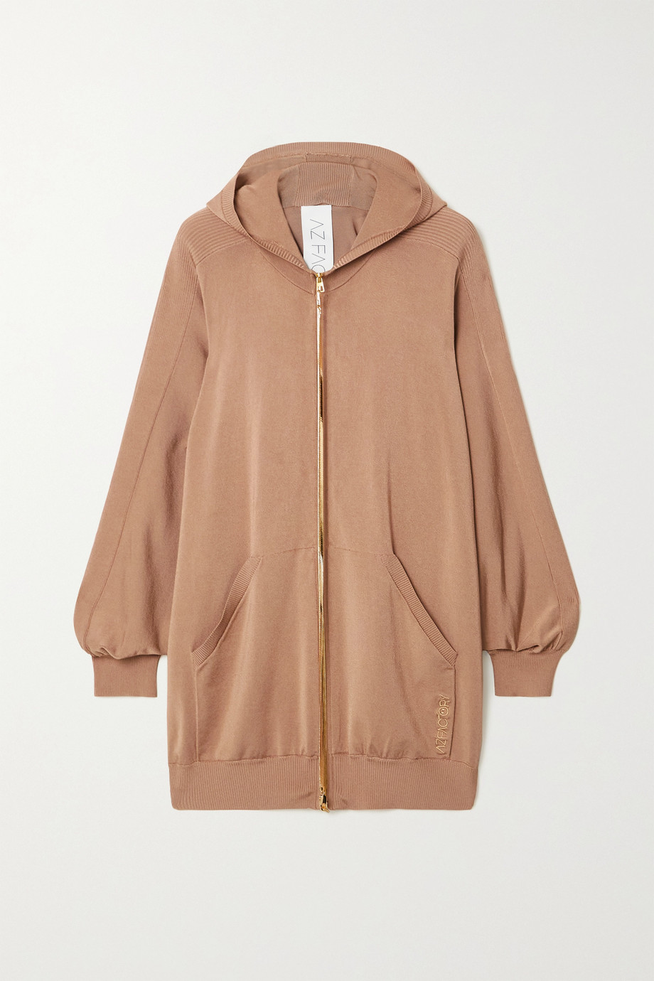 AZ Factory Switchwear oversized stretch-knit hoodie