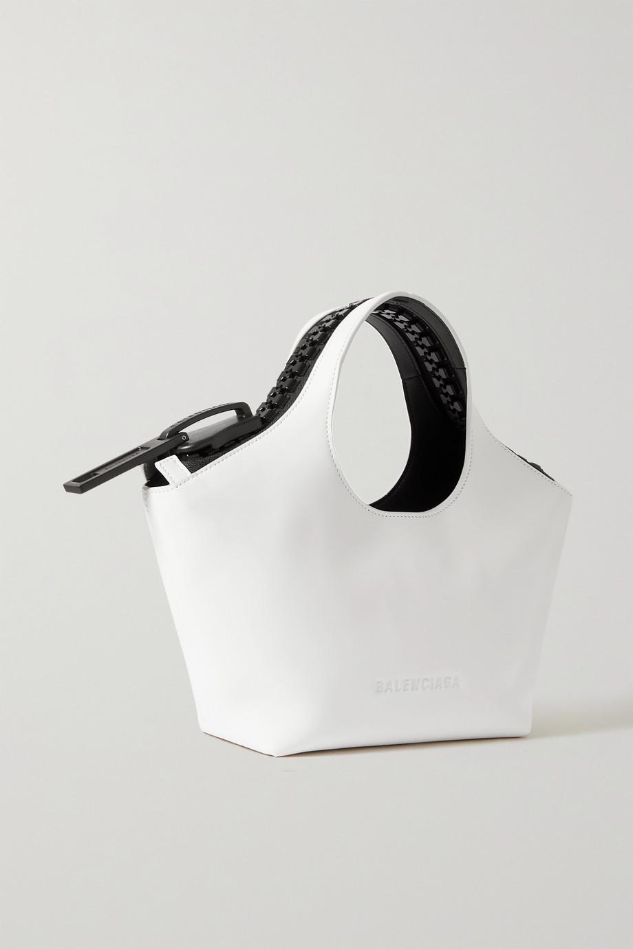 Balenciaga Sac à main en cuir Megazip